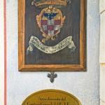 Antica Corte Pallavicina - Stemma Camera Galeazzo